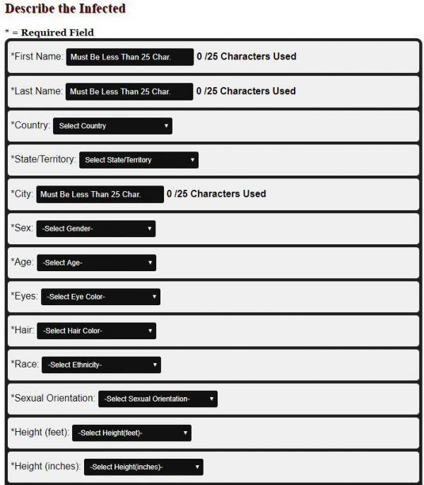 STD Monitor Form